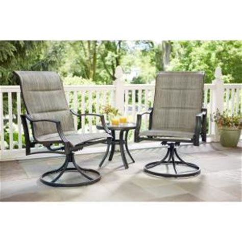 hton bay replacement patio chair slings hton bay statesville padded sling patio lounge swivel