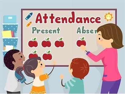 Attendance Teacher Board Illustration Digital Clip Decorating