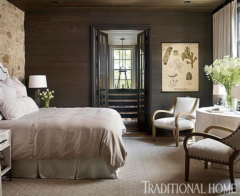 Gracious Lakeside Home Home bedroom Sophisticated