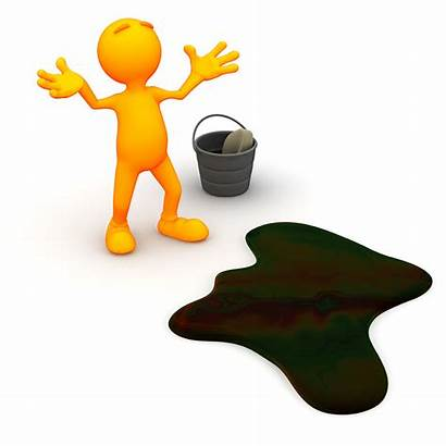 Spill Clipart Oil Chemical 3d Safety Plan