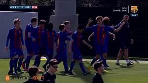 Gol De Arnau Comas Juvenil B FC Barcelona Vs Jabac