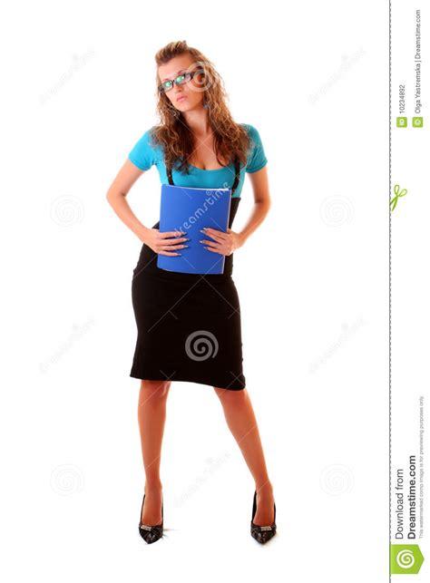 femme de bureau jeunes de femme de bureau photographie stock image 10234892