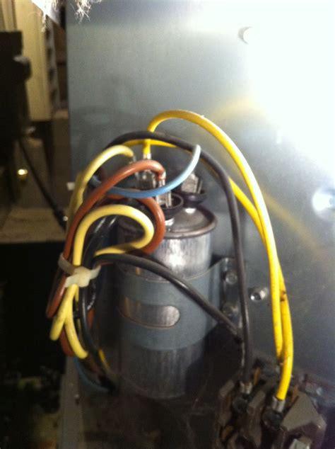 replace starter capacitor  ac condenser unit