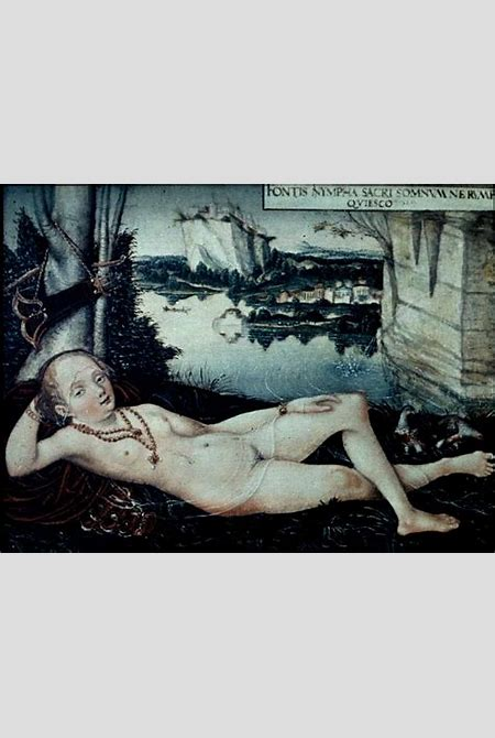 File:Water Nymph Resting-Lucas Cranach-1530.jpg - Wikimedia Commons