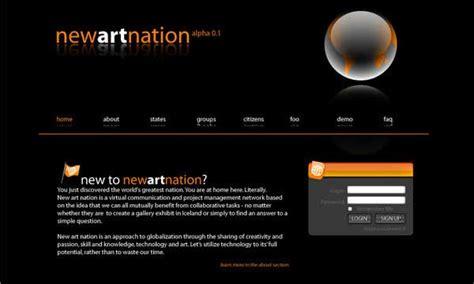 inspiring art web site designs designer mag