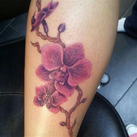 orchideen tattoo ideen entwuerfe und bedeutungen
