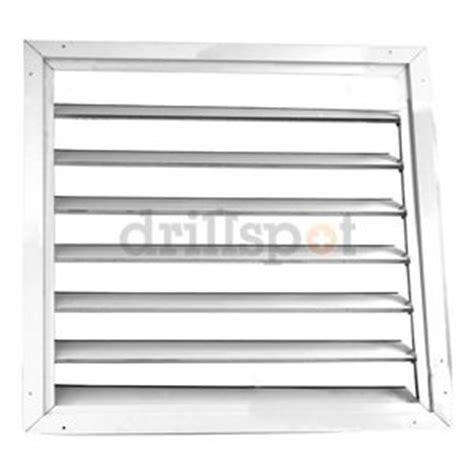 attic fan louver cover premium ceiling shutter 30x30 4c225 attic fan louver