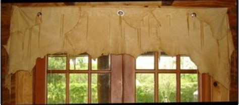Cowhide Valance - cowhide window valance valances and curtains
