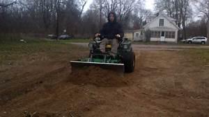 Dirt Plow Test Z425 John Deere Zero Turn Also Z225 Z445