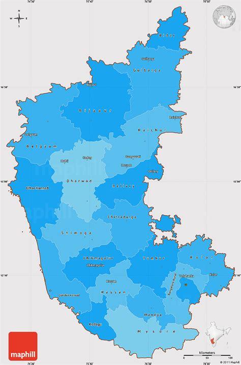 political shades simple map  karnataka cropped