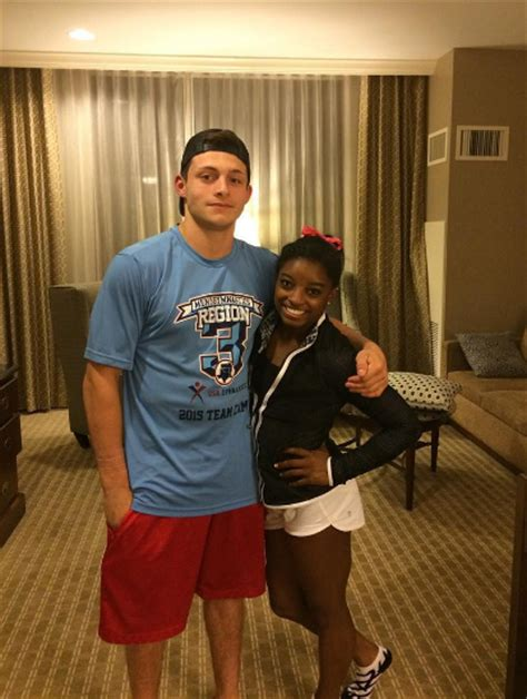 Simone Biles and Her Boyfriend