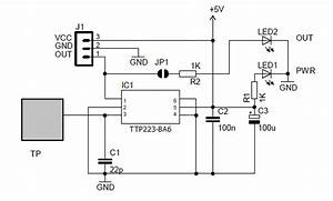 Here Is A Simple Capacitive Touch Switch Circuit For