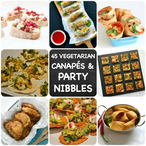 indian canapes ideas 45 recipes for vegetarian nibbles canapés you need