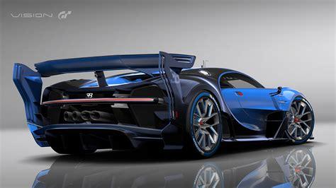 Bugatti Vision Gran Turismo Show Car Revealed at Frankfurt ...