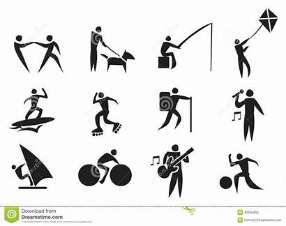 Leisure Activities Activity Icon Vector Clipart Outdoor