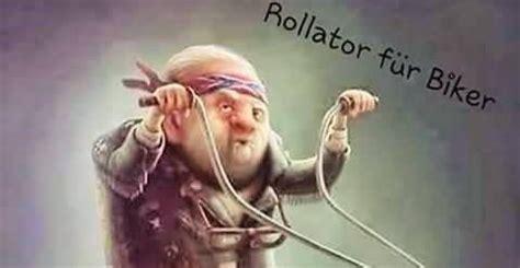 rollator fuer biker lustige bilder sprueche witze echt