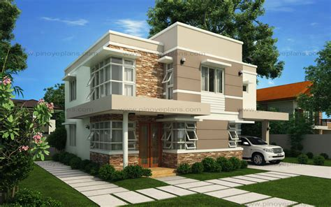 Modern House Design Series Mhd2012006  Pinoy Eplans