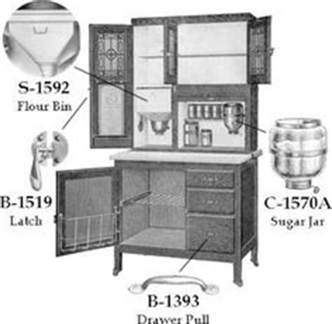 sellers kitchen cabinet parts antique 1920 s hoosier cabinet with flour sifter porcelain 5127
