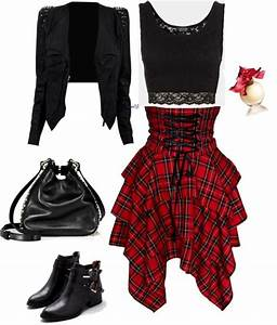 Grunge / Rock Winter Outfits For Women 2018 | FashionGum.com