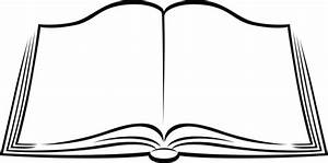 Books black and white book clipart - Clipartix