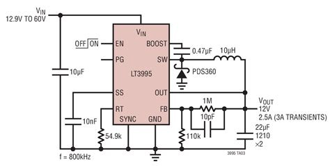 Step Down Converter Circuit Collection Analog