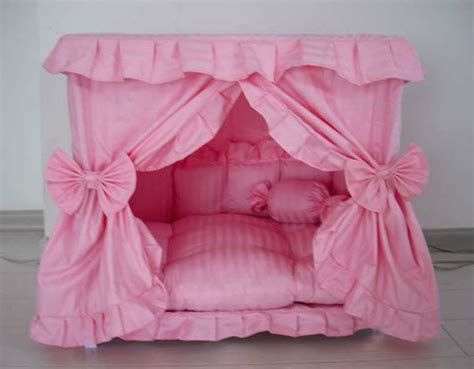 princess canopy beds gorgeous handmade princess pet cat bed house 1