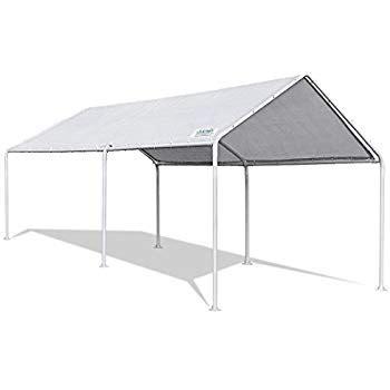 amazoncom caravan canopy    feet domain carport