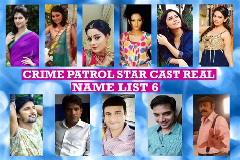 crime patrol cast real name real list 6 no 1indian crime show