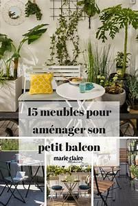 Table Pour Petit Balcon : 20 meubles chics et pratiques pour le balcon terrasse et balcon terrace and balcony ~ Melissatoandfro.com Idées de Décoration