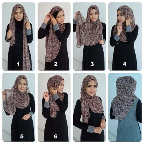 hijab tutorials   materials pashmina crinkle
