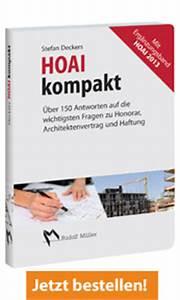 Anrechenbare Kosten Architekt : hoai kompakt mit erg nzungsband zur hoai 2013 ~ Lizthompson.info Haus und Dekorationen