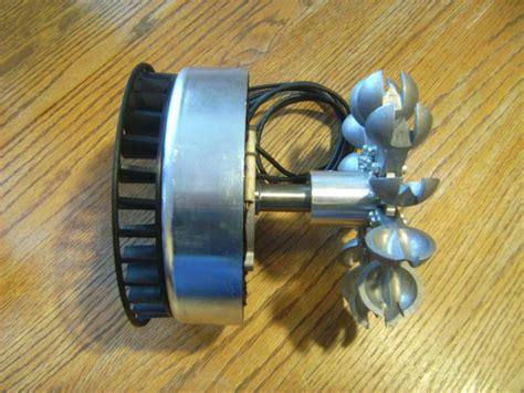 Pma Generator Me1112 Pelton Wheel Water Power 0-240 Vac