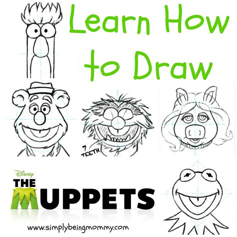 draw  muppets drawings doodles  craft