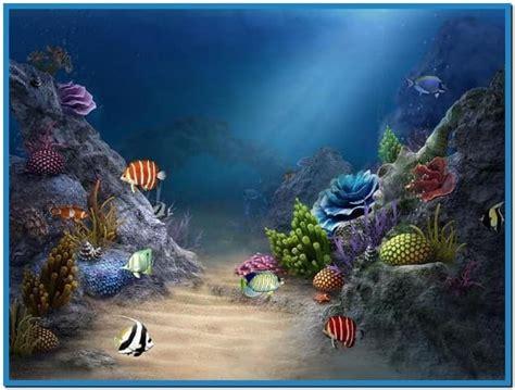 3d sea aquarium screensaver free