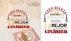 Lola Wonderful Regalos personalizados y diseño para eventos: Packs para amantes de la cocina