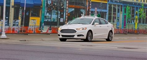 Ford To Hit California's Streets With Driverless Cars