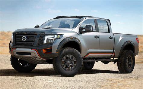 2019 Nissan Titan Warrior Concept Specs  New Concept Cars