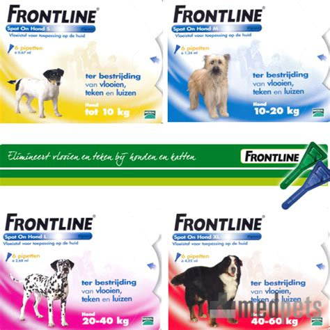 frontline spot  fuer hunde floh zeckenschutz