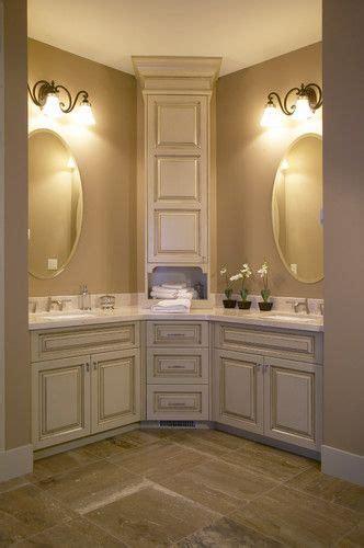 ideas  corner bathroom vanity