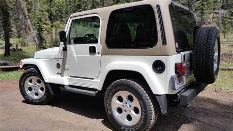 white jeep wrangler 2 door 2000 jeep wrangler sahara sport utility 2 door 2000 jeep
