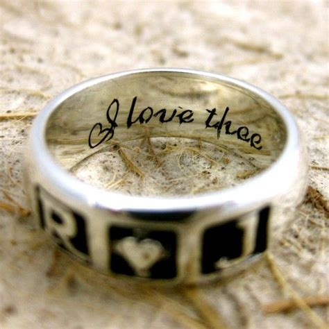 romeo juliet wedding ring in sterling silver with i