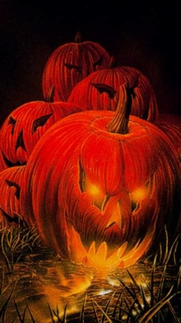 Here are only the best creepy wallpapers. 360x640px Halloween Mobile Wallpapers - WallpaperSafari