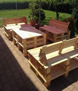 Recyclage Palette : 52 id es pour fabriquer votre meuble de jardin en palette ~ Melissatoandfro.com Idées de Décoration