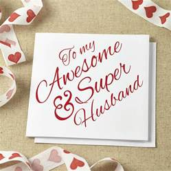 Free Wedding Anniversary Cards for Husband