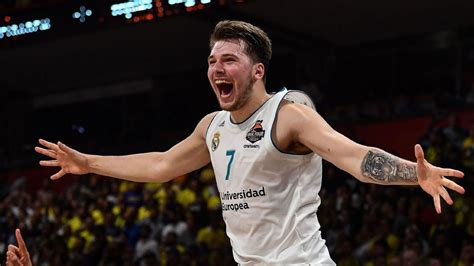 nba prospect luka doncic helps real madrid win euroleague