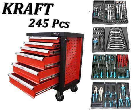 bureau travail a vendre servante d 39 atelier servante à outils 245 pcs 6 tiroirs