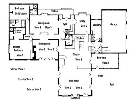 residential blueprints ideas residential floor plans designs house blueprints