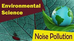 Noise Pollution Effects Of Noise Pollution Sources