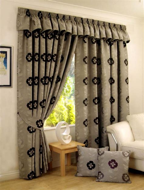 curtain design for home interiors long wide and bay window curtains providing hard to get curtain sizes
