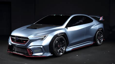 subaru concept truck subaru viziv performance sti concept is awesome but don 39 t